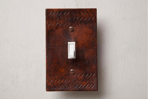 Scrap project light switch cover