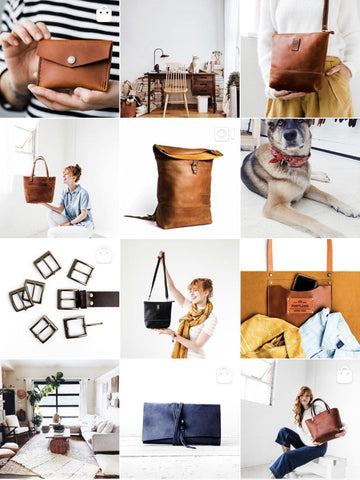 PortlandLeather instagram feed photo for Blog Influencer