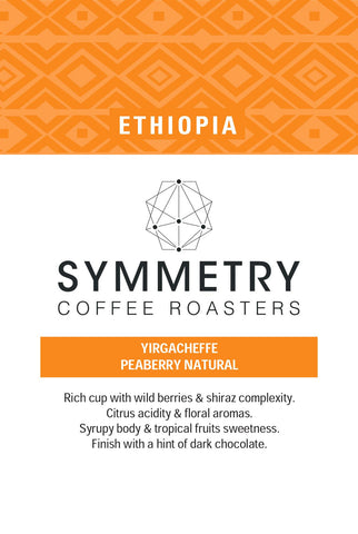 ETHIOPIA - Yirgacheffe Peaberry | Light Roast