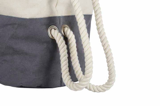 Canvas Backpack - Ditty Bag - Rope Handle Bag - Soft Storage