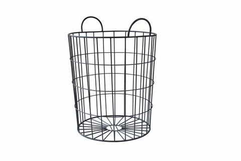 JACKSON // STORAGE BASKET- BLACK