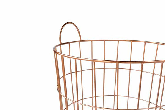 JACKSON // STORAGE BASKET- COPPER