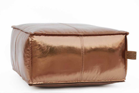 JACKSON Square Copper Pouf