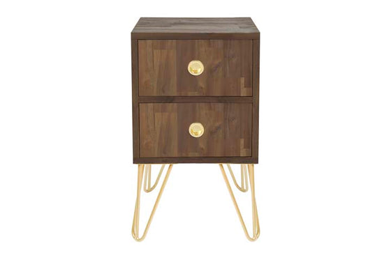 JACKSON // BEDSIDE TABLE // 2 Drawer