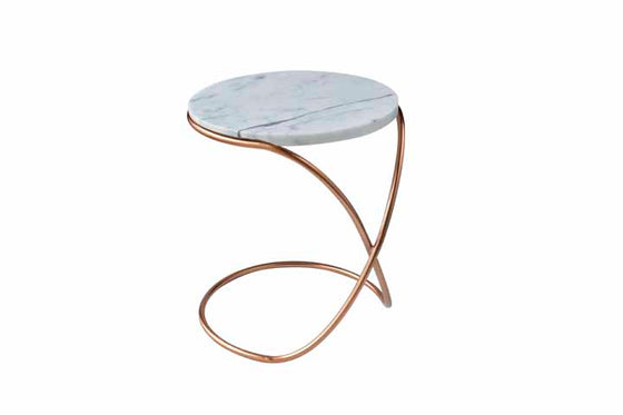 JACKSON // INFINITY TABLE- COPPER// MARBLE