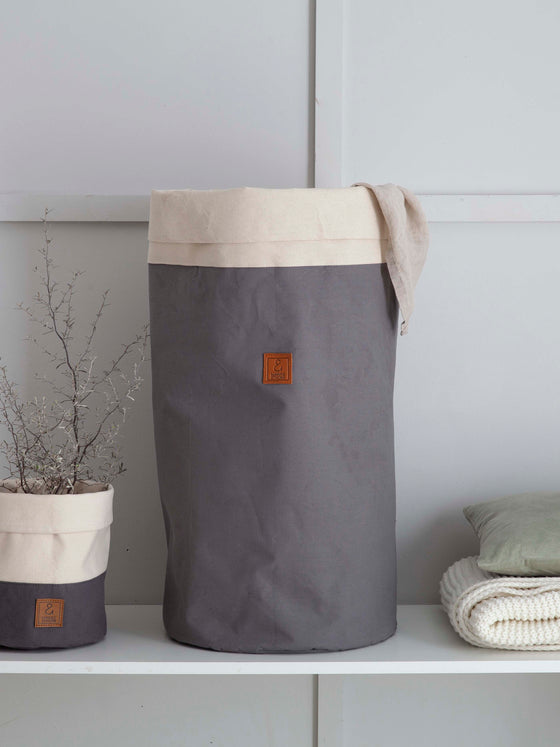 PAXTON // Storage Hamper - Grey
