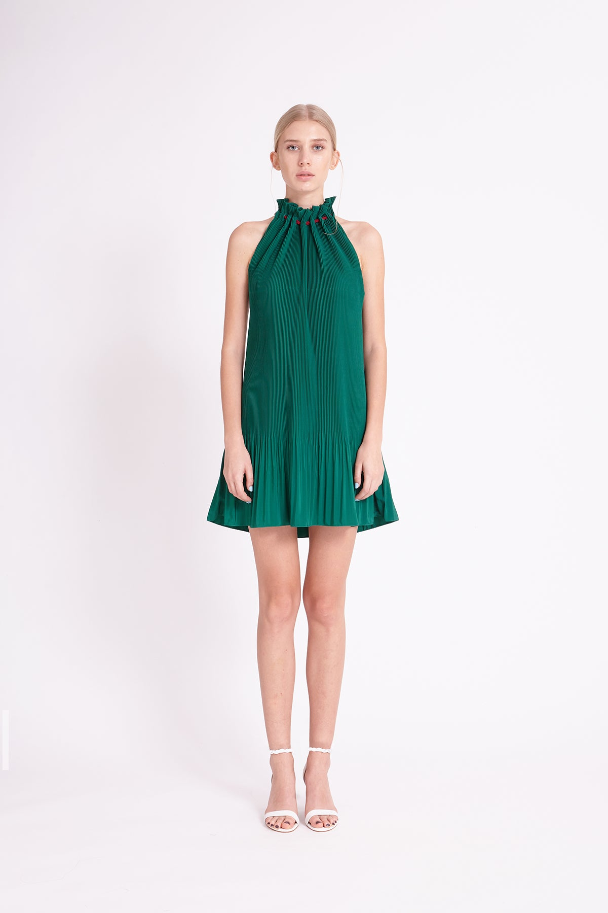 ZM021810D : PLEATED DRESS