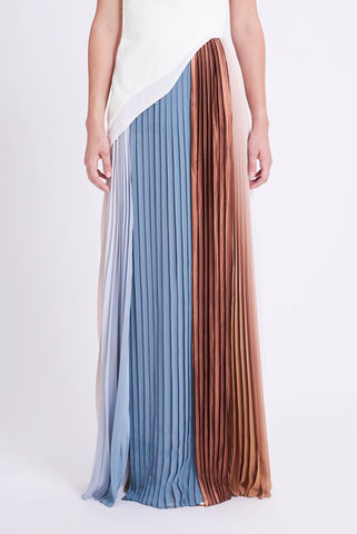 ZKSS1903SPR : PLEATED SKIRT