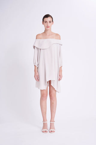 ZKSS1911DSM : OFF-SHOULDER MINI DRESS