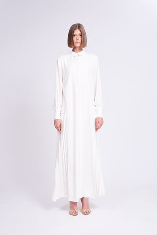 ZKSS1908DWT : MAXI SHIRT DRESS