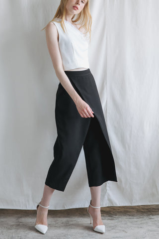 ZV061609PBK : WRAP PANTS