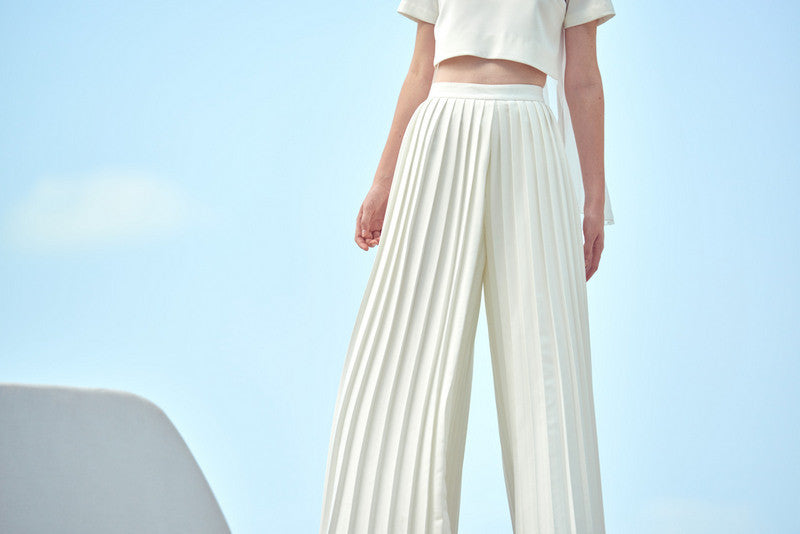 ZW041602 : EXCLUSIVE KRIS PLEATED PANTS
