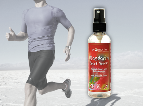 Mandarin Sports Spray - 100ml