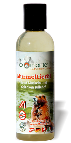 FANTASTIC NEW PRODUCT WITH  80 %  PURE MARMOT OIL