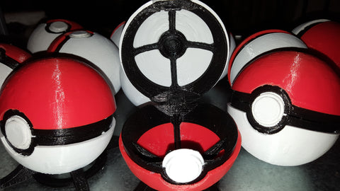 Pokeball opend up