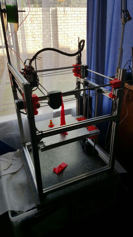 Dual color 3d printer