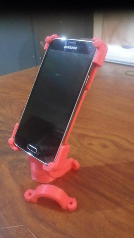 Bicycle Mount for Samsung Galaxy S5 - 3D Printing SA - 1