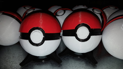 3D Printed Pokeballs
