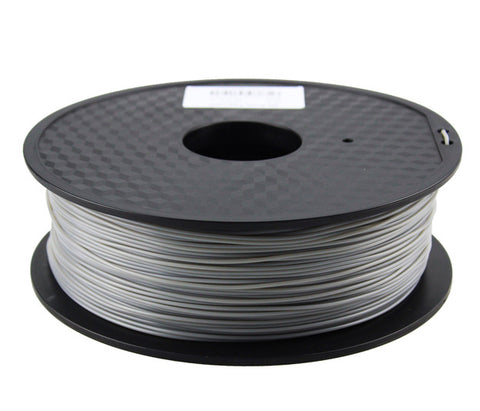 Grey ABS 3D Printer Filament 1.75mm 1kg