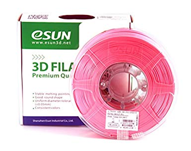Pink ABS 3D Printer Filament 1.75mm 1kg