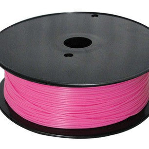 Fluorescent Pink ABS 3D Printer Filament 1.75mm 1kg - 3D Printing SA