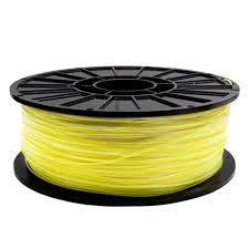 Fluorescent Yellow ABS 3D Printer Filament 1.75mm 1kg - 3D Printing SA
