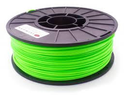 Fluorescent Green ABS 3D Printer Filament 1.75mm 1kg - 3D Printing SA