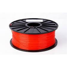 Fluorescent Red ABS 3D Printer Filament 1.75mm 1kg - 3D Printing SA