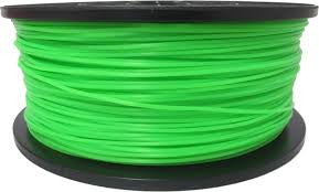 Glow in Dark Green ABS 3D Printer Filament 1.75mm 1kg - 3D Printing SA
