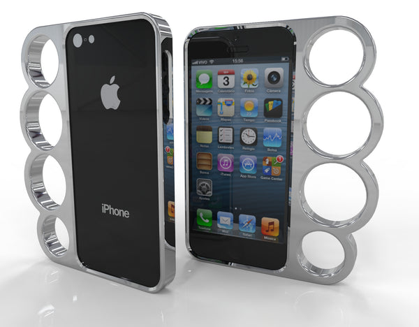 4 Finger Iphone 5 Case - 3D Printing SA
