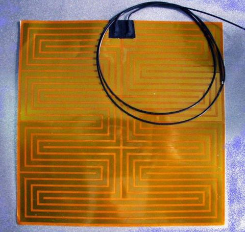Aluminium Print bed with Kapton Heater - Complete - 3D Printing SA - 1