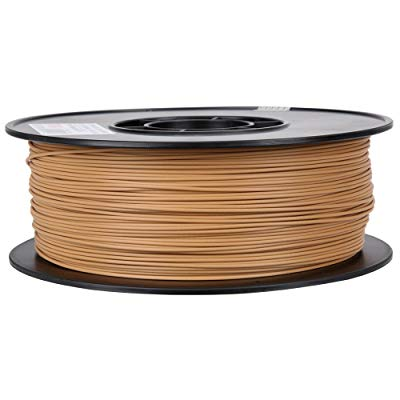 Light Brown PLA 3D Printer Filament 1.75mm 1kg
