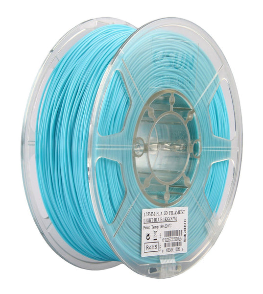 Light Blue PLA 3D Printer Filament 1.75mm 1kg