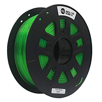 Transparent Green PLA 3D Printer Filament 1.75mm 1kg