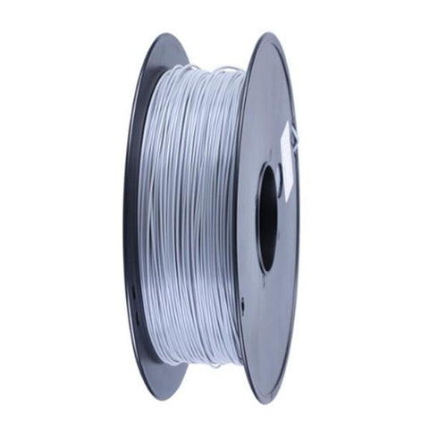 Wanhao Silver ABS 3D Printer Filament 1.75mm 1kg