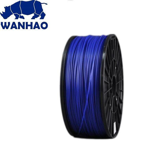 Wanhao Dark Blue PLA 3D Printer Filament 1.75mm 1kg