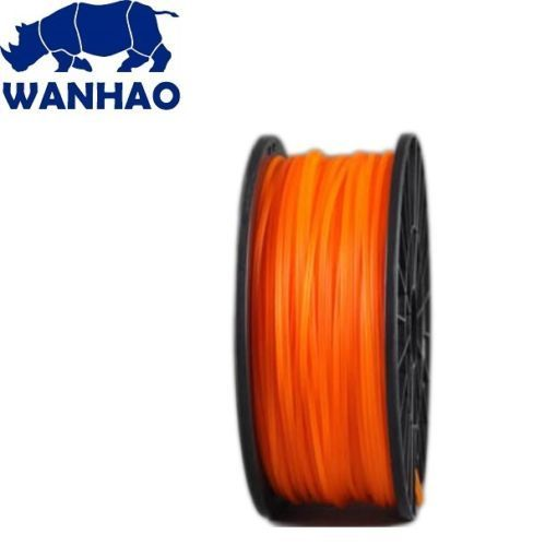 Wanhao Orange PLA 3D Printer Filament 1.75mm 1kg