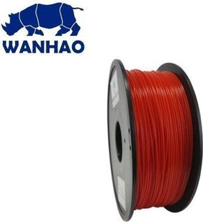Wanhao Red PLA 3D Printer Filament 1.75mm 1kg