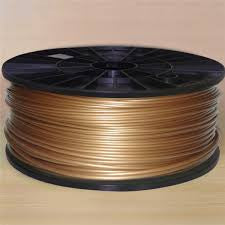 Gold PLA 3D Printer Filament 1.75mm 1kg - 3D Printing SA