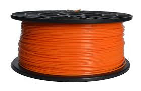 Orange PLA 3D Printer Filament 1.75mm 1kg - 3D Printing SA