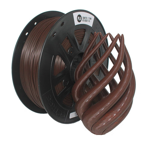 Brown PLA 3D Printer Filament 1.75mm 1kg