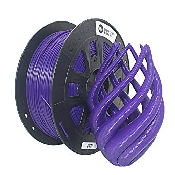 Purple PLA 3D Printer Filament 1.75mm 1kg