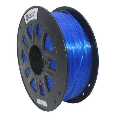 Transparent Blue PLA 3D Printer Filament 1.75mm 1kg