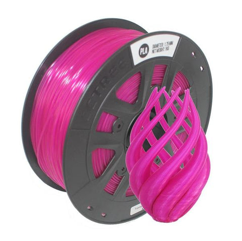 Transparent Purple PLA 3D Printer Filament 1.75mm 1kg