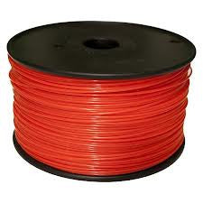 Red Flexible 3D Printer Filament 1.75mm 1kg - 3D Printing SA