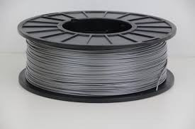 Silver PLA 3D Printer Filament 1.75mm 1kg - 3D Printing SA