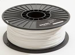 White PLA 3D Printer Filament 1.75mm 1kg - 3D Printing SA