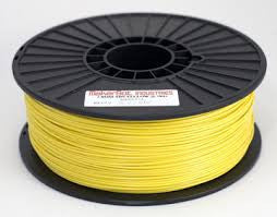 Yellow Flexible 3D Printer Filament 1.75mm 1kg - 3D Printing SA