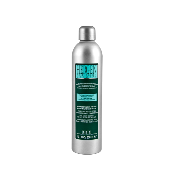 HERGEN TWO-ACTION SHAMPOO FOR OILY SCALP & DRY HAIR SHAMPOO