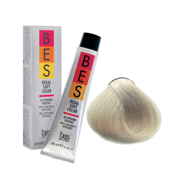 BES REGAL SOFT COLOR - TONING ASH
